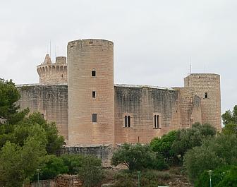 hrad Castillo de Bellver