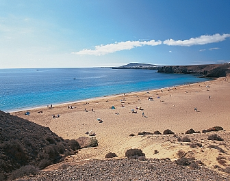 Pláž Papagayo, Playa Blanca