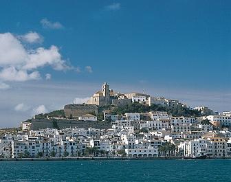 Hlavní město Eivissa