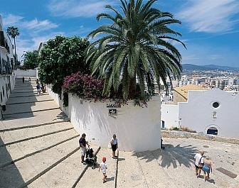 Ibiza Hlavní město Dalt Vila
