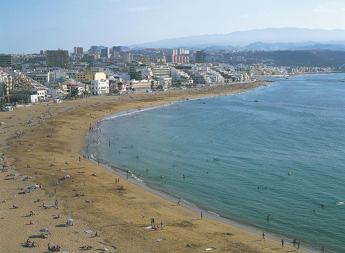 Gran Canaria Las  Palmas_Playas de las Canteras
