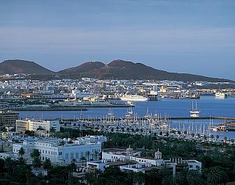 Gran Canaria Las Palmas Muelle deportivo