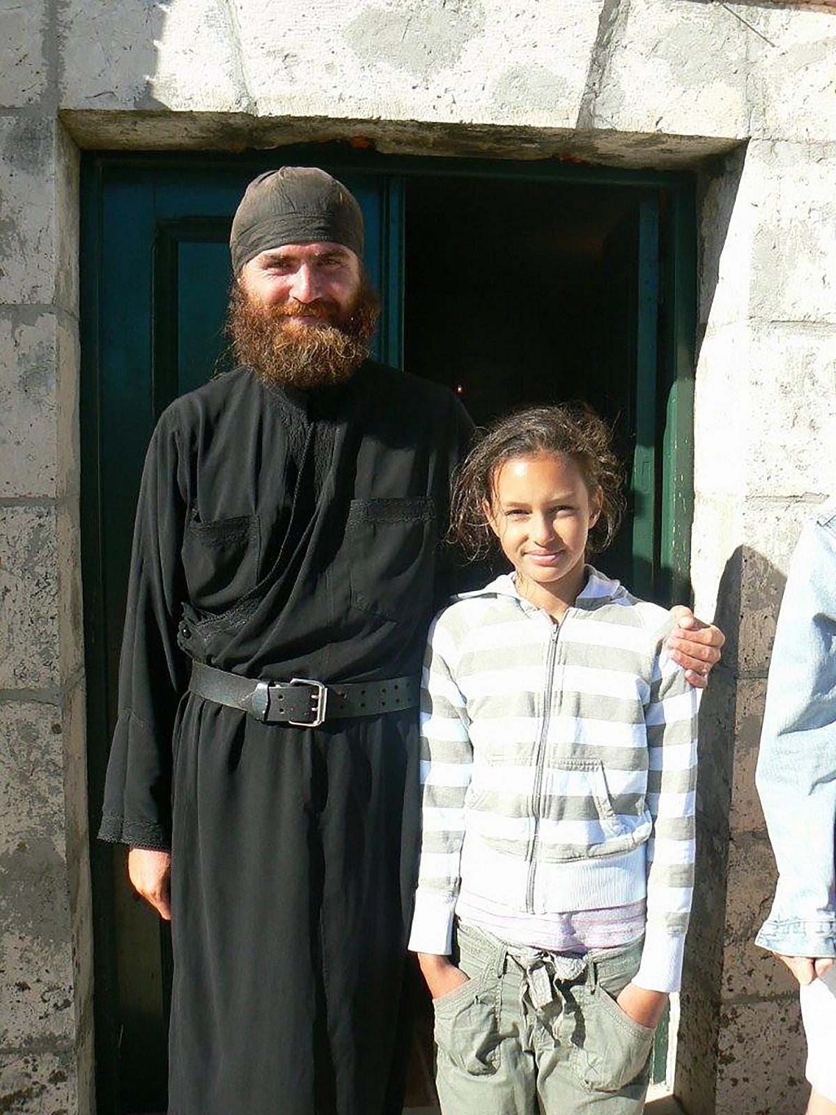 Pantokrator mnich