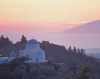 Zia sunset Church