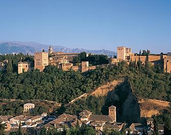 Granada Vista de la Alhambra