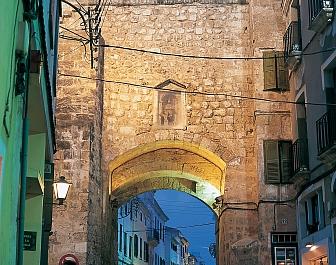 Menorca Mahon Portal de San Roque