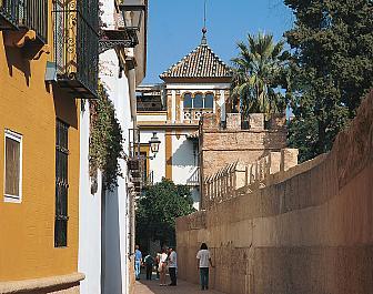Sevilla Calle del Agua Barrio de Santa Cruz
