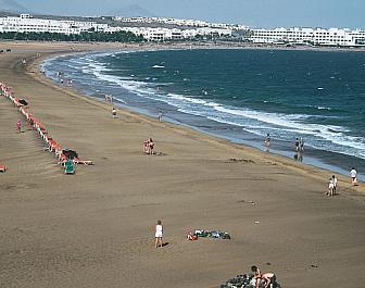 Lanzarote Teguise Playa de los Pocillos