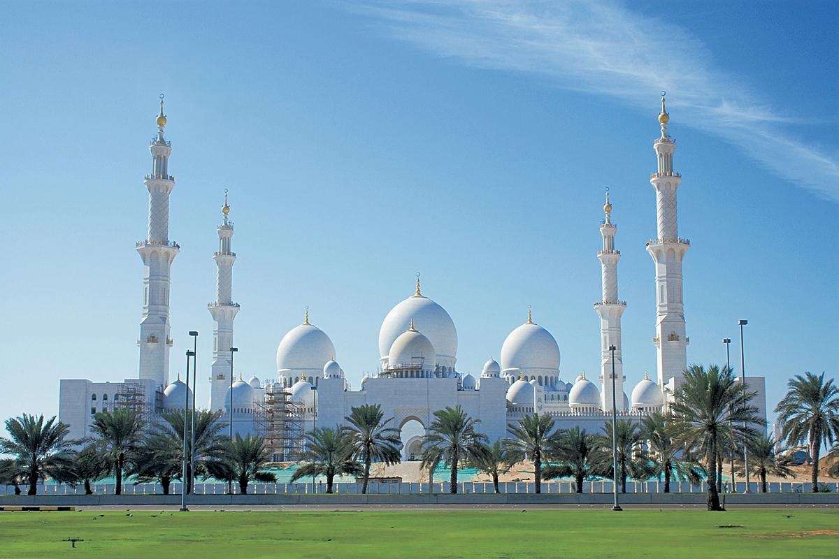 Velká mešita Zayeda v Abú Dhabi