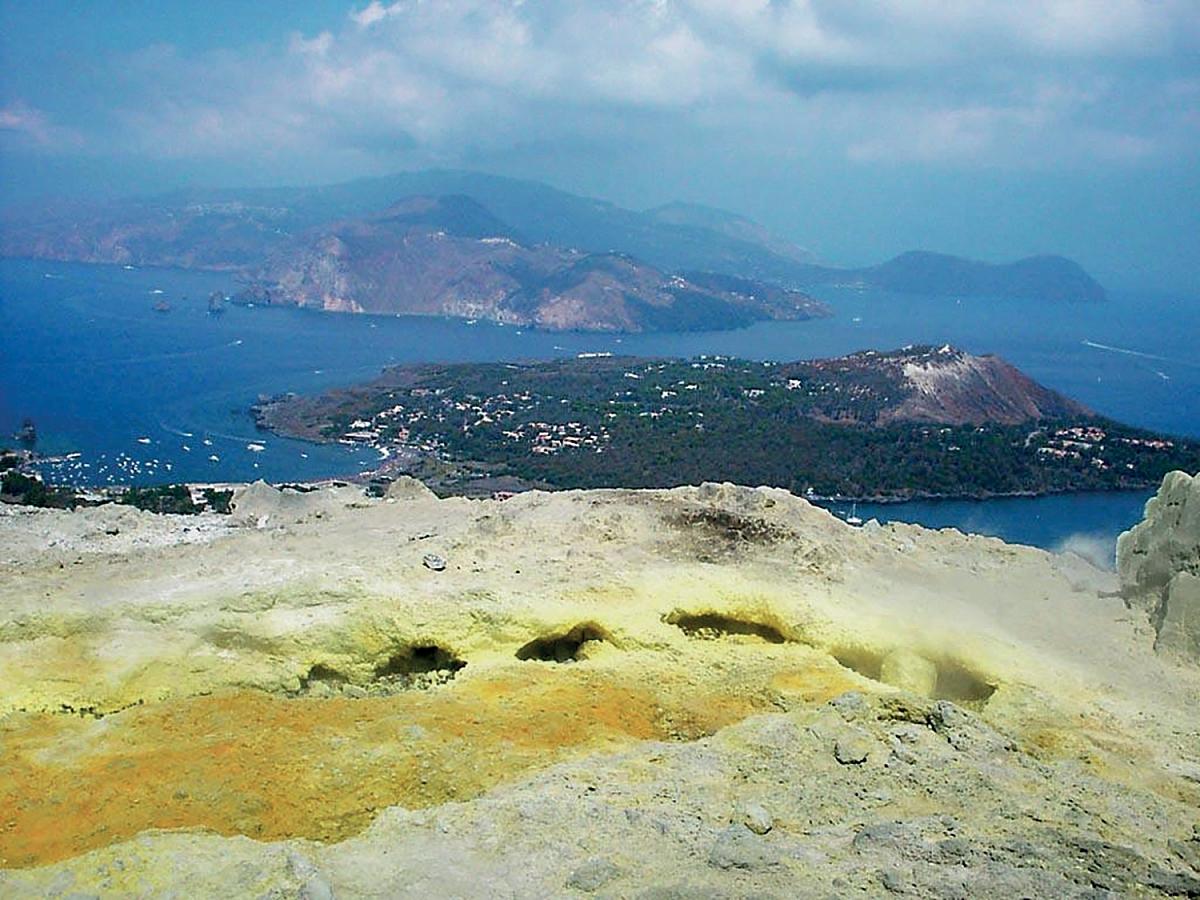 Stromboli a Tyrhénské moře