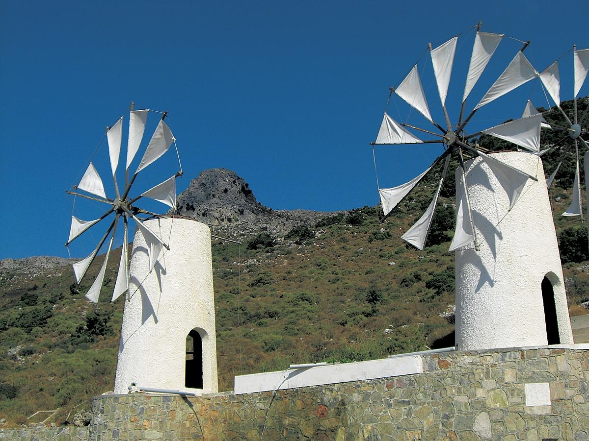 Větrný mlýn v Lasithi