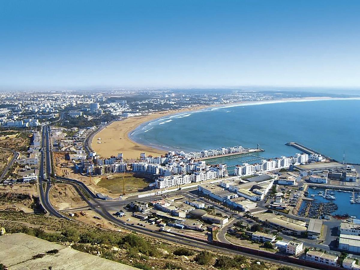 Marocké město Agadir