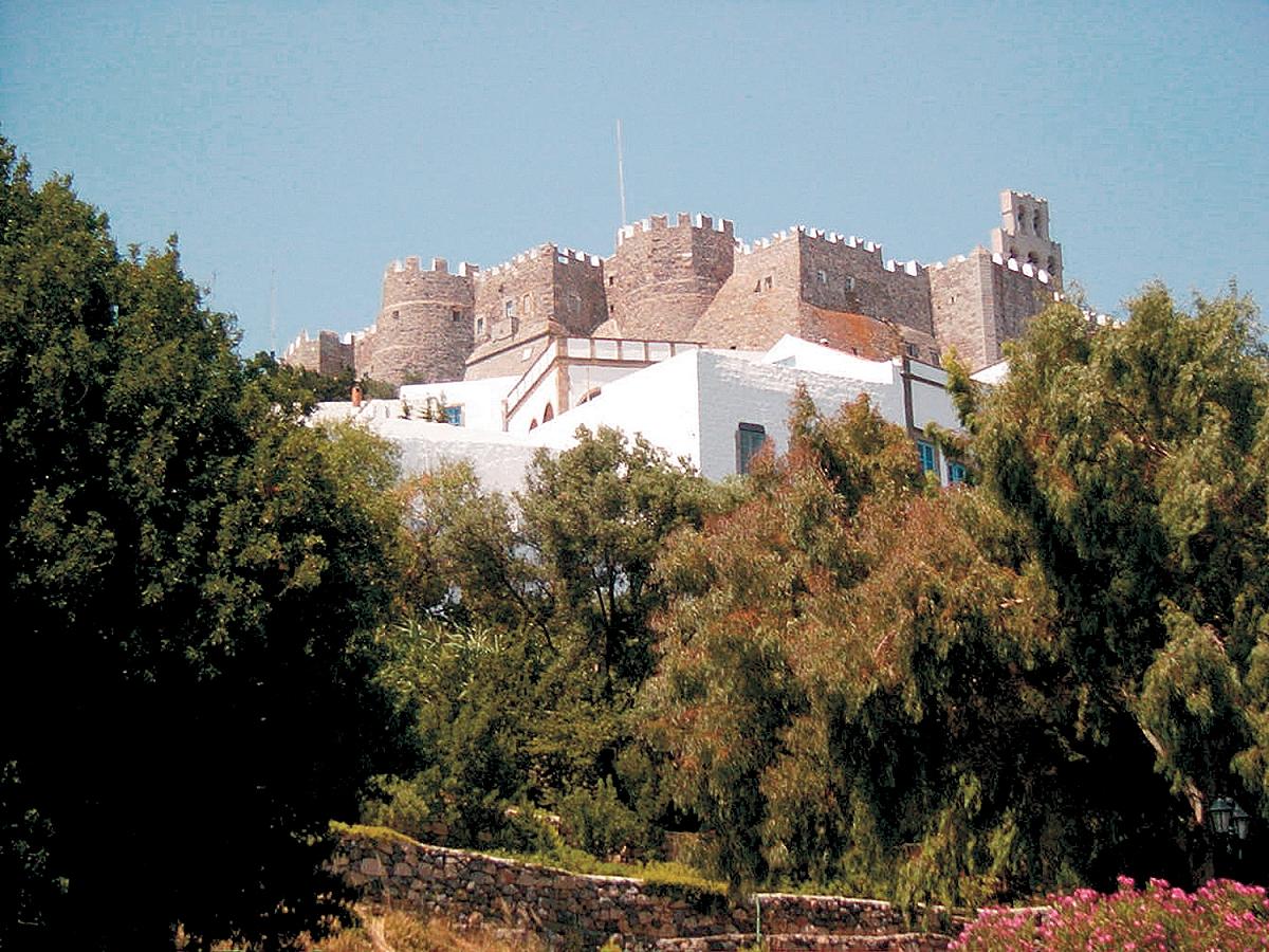 Ostrůvek Patmos u Samosu