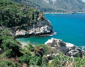 Pláž Seitani na Samosu