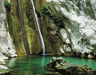 Vodopády Nidri