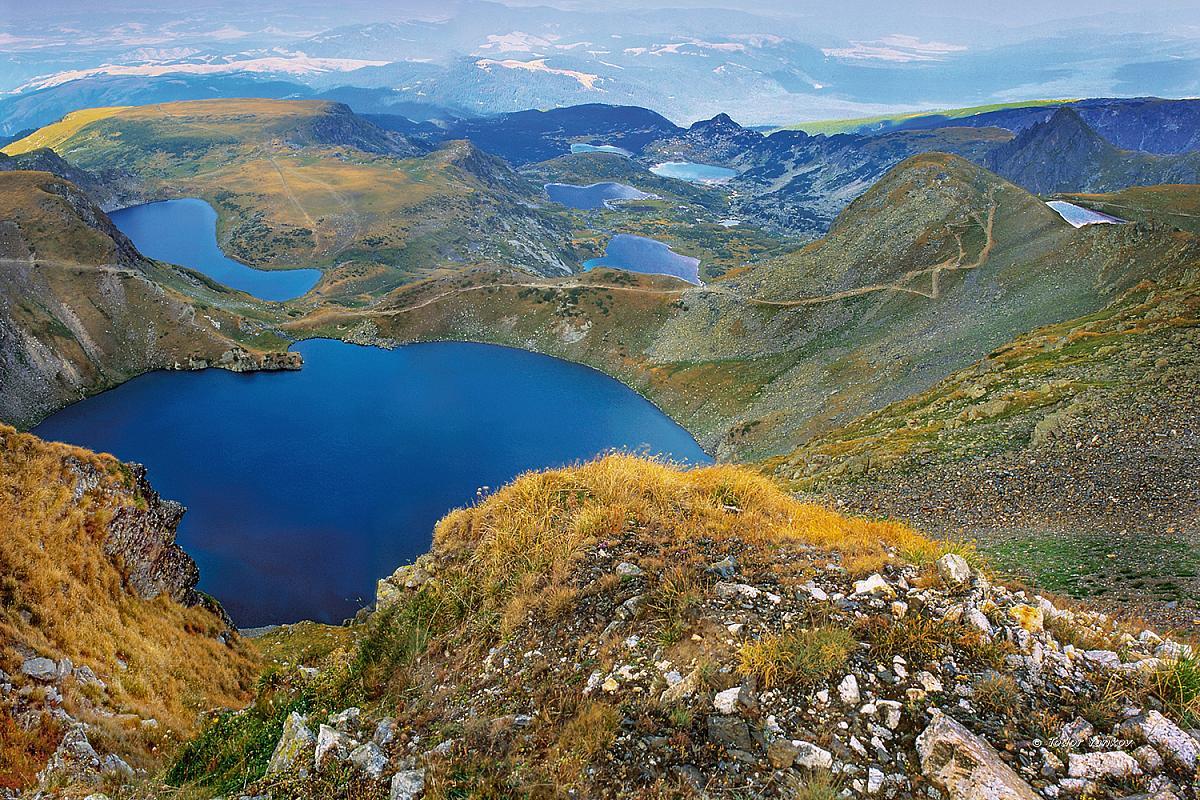 Jezera v pohoří Rila