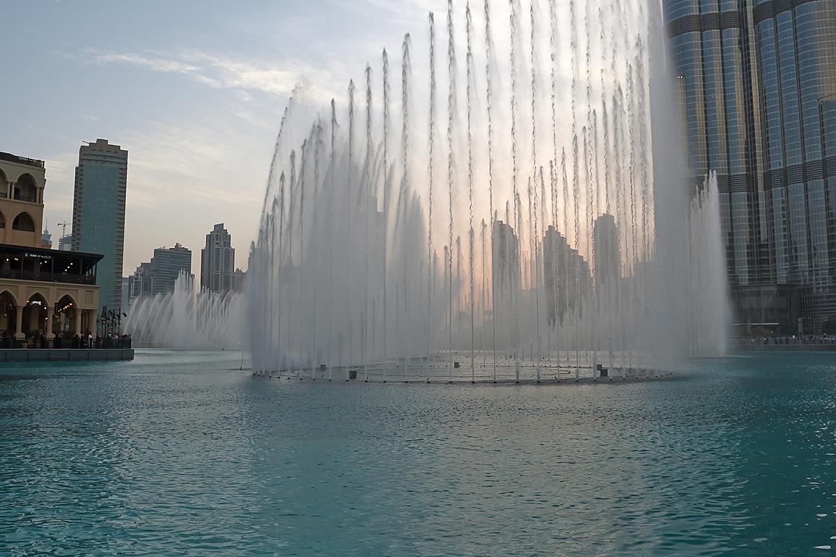 Dubajské fontány