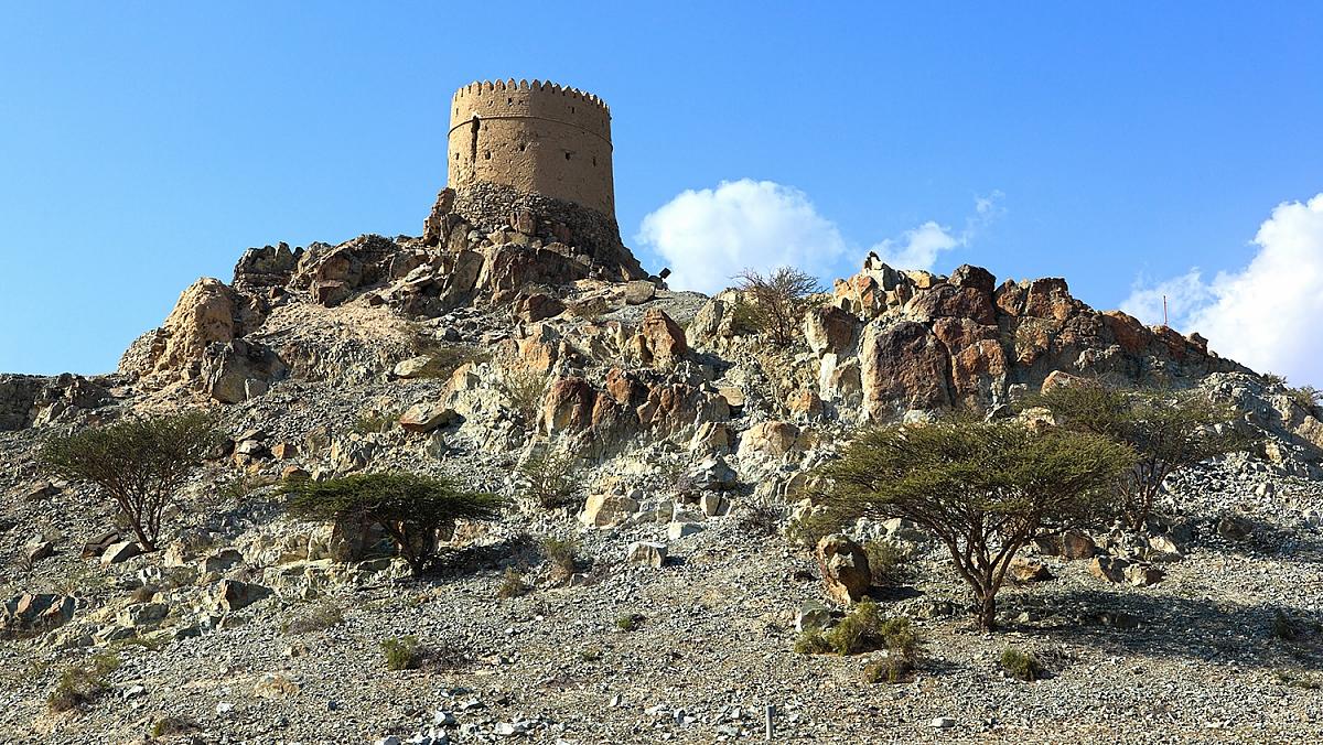 Krajina kolem města Hatta