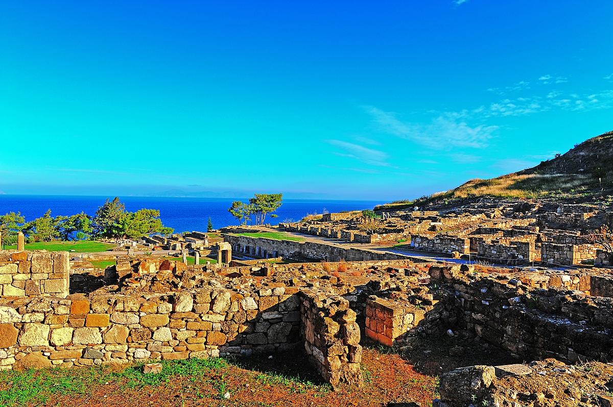 Historické město Kamiros
