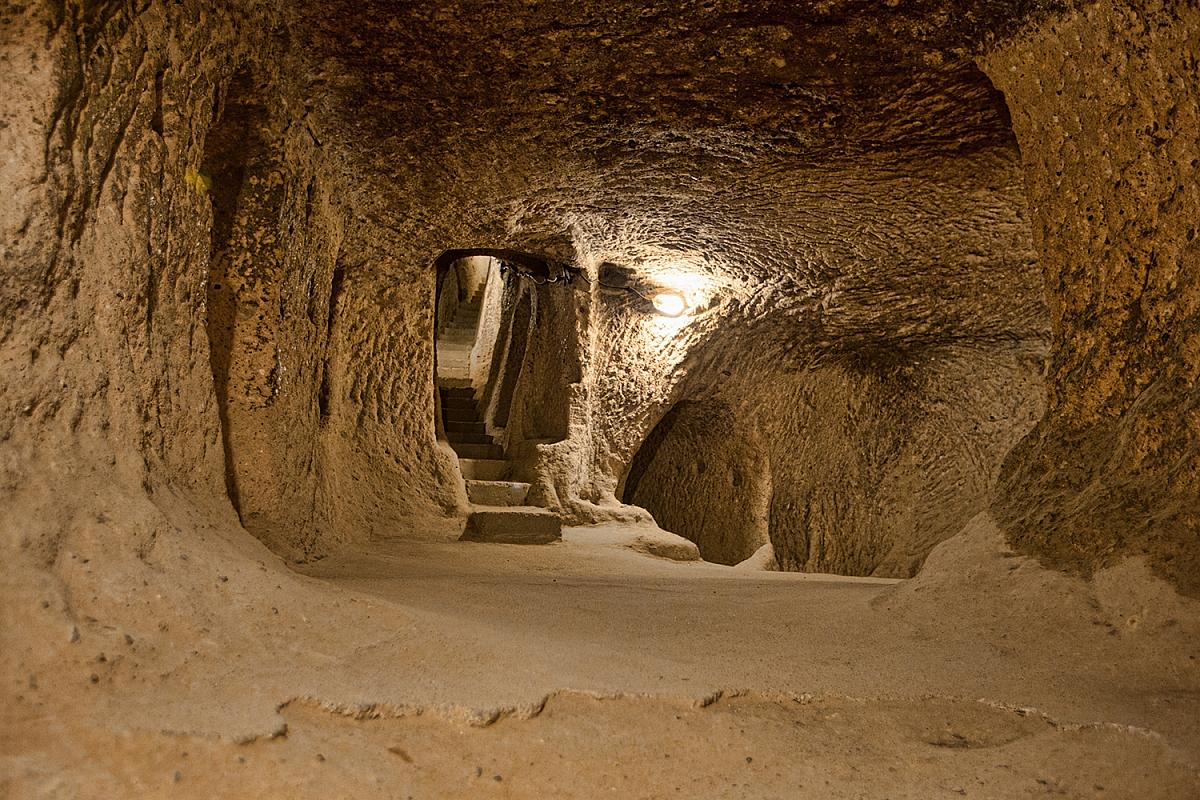 Jeskyně v Turecku