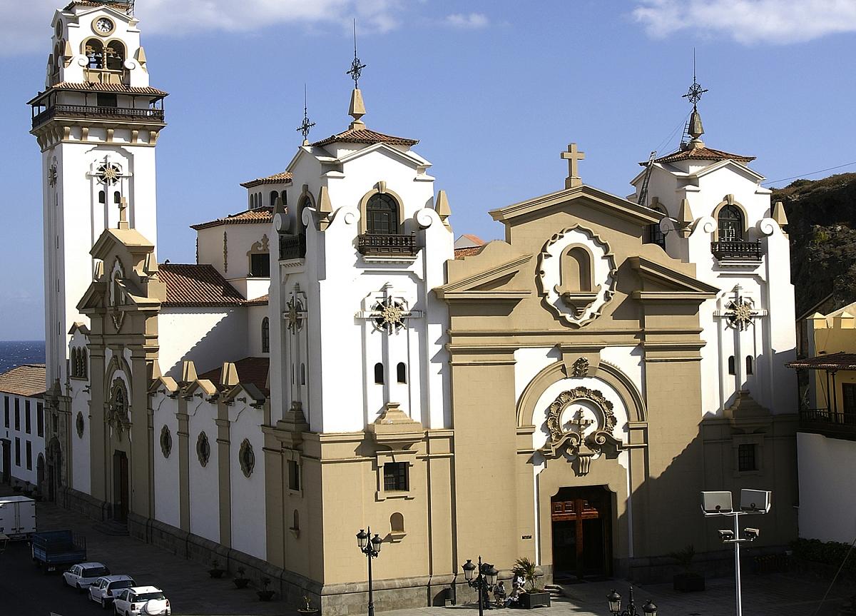 Bazilika v Candelarii na Tenerife