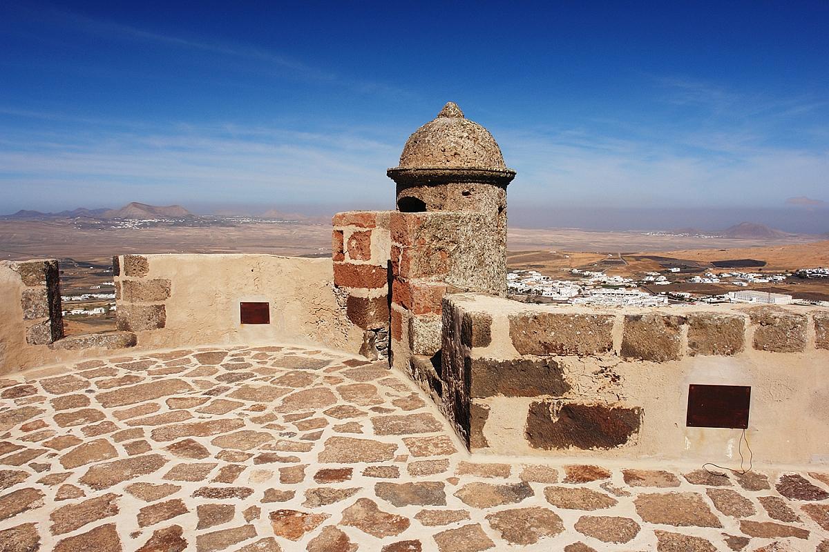 Castillo de Guanapay na Lanzarote