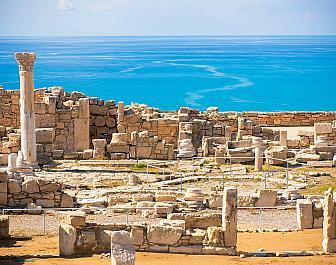 Ruiny starobylého Kourionu nedaleko Limassolu