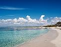 Slavná pláž Es Trenc na jihu Mallorcy