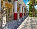 Zámek Achillion u vísky Gastoúri na Korfu