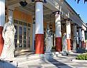 Zámek Achillion císařovny Sissi u vísky Gastoúri na Korfu