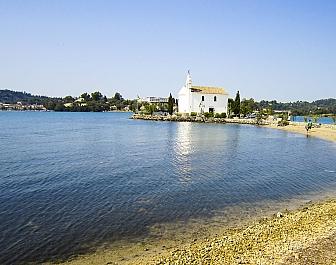 Korfu, Řecko, kostelík