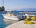 Přístav v letovisku Kassiopi na Korfu