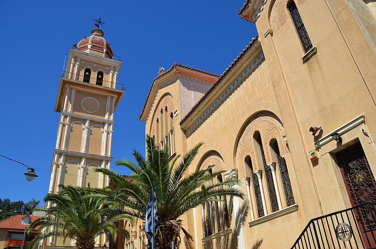 Náměstí svatého Marka v Zakynthu