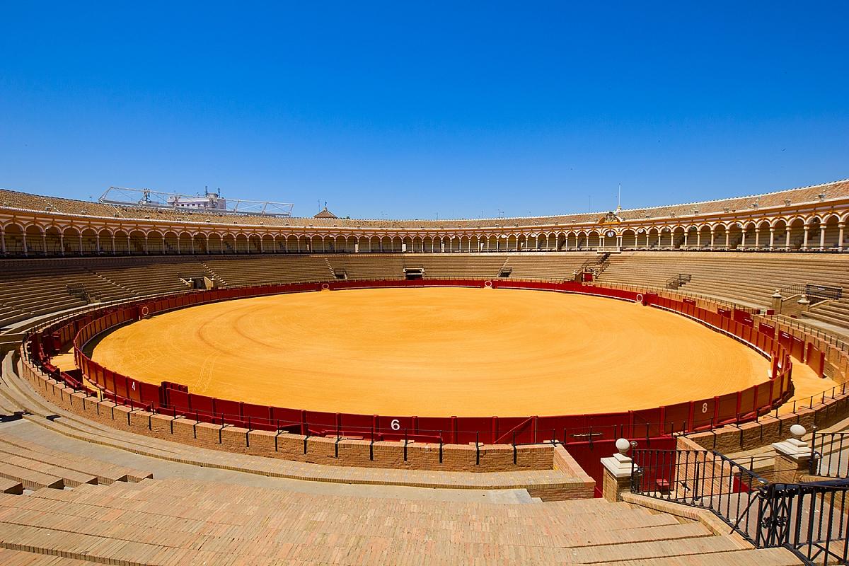 Korida v Seville