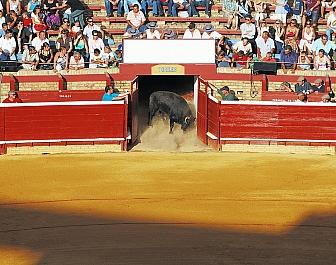Korida ve městě Huelva