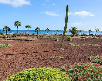 Pláž v Las Playitas na ostrově Fuerteventura, Kanárské ostrovy