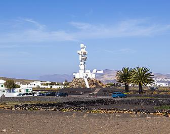 Pocta vesničanům Monumento al Campesino na Lanzarote