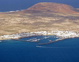 Ostrov La Graciosa, severní Lanzarote