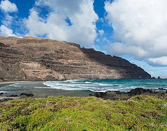 La Graciosa, severní Lanzarote na Kanárských ostrovech