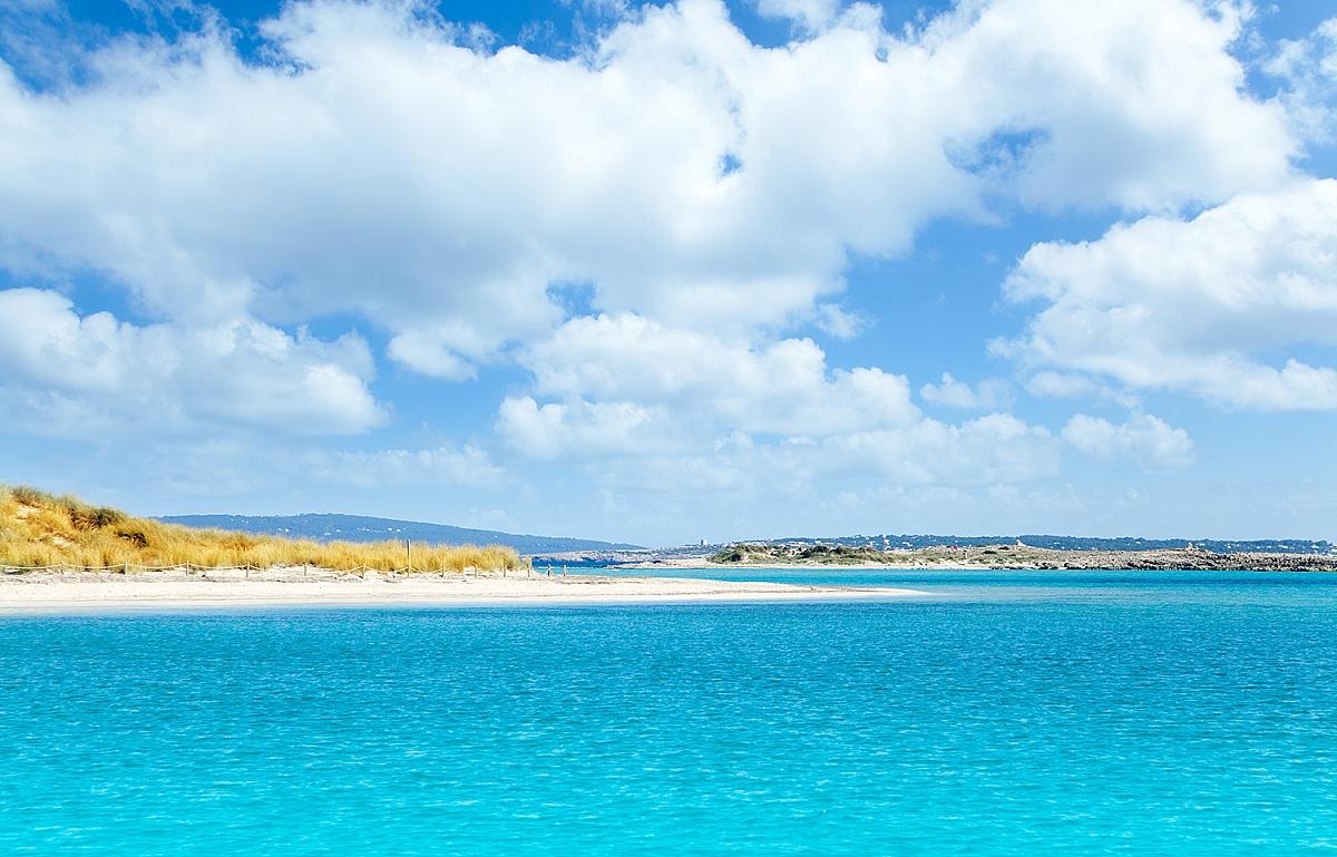 Ostrov Espalmador u Formentery