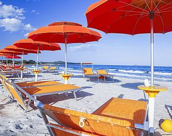 Costa Smeralda, pláž