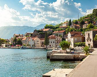 Boka Kotorská, městečko Perast