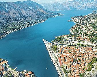 Boka Kotorská, celkový pohled