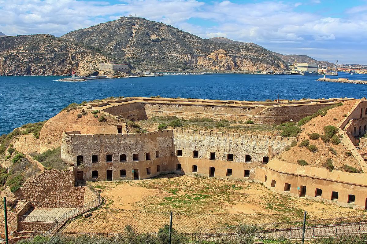 Cartagena, opevnění