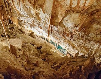 Dračí jeskyně u Porto Cristo