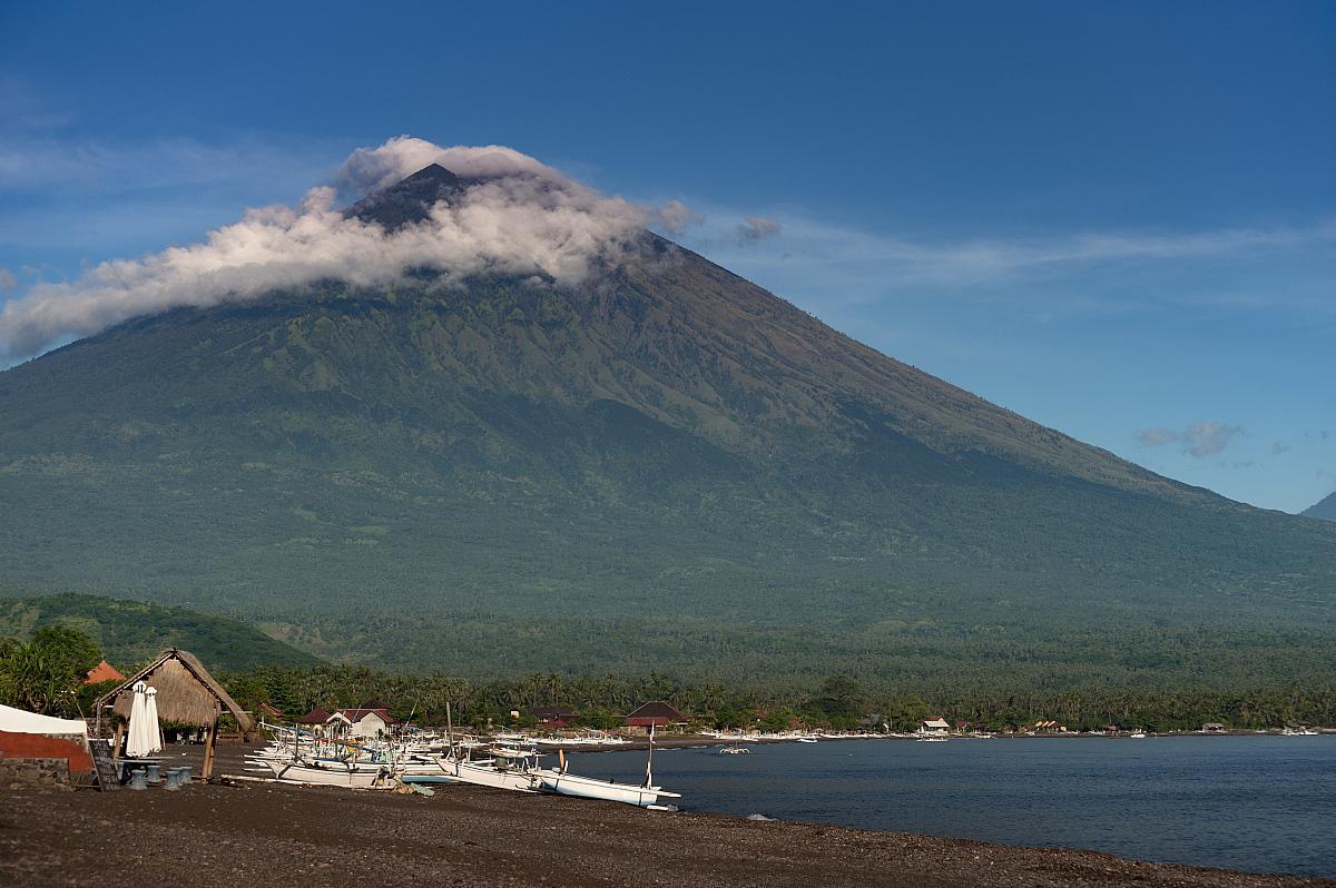 Vulkán Gunung Agung