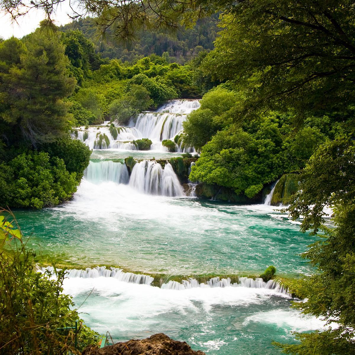 Krka, vodopády