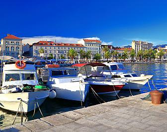 Split, přístav