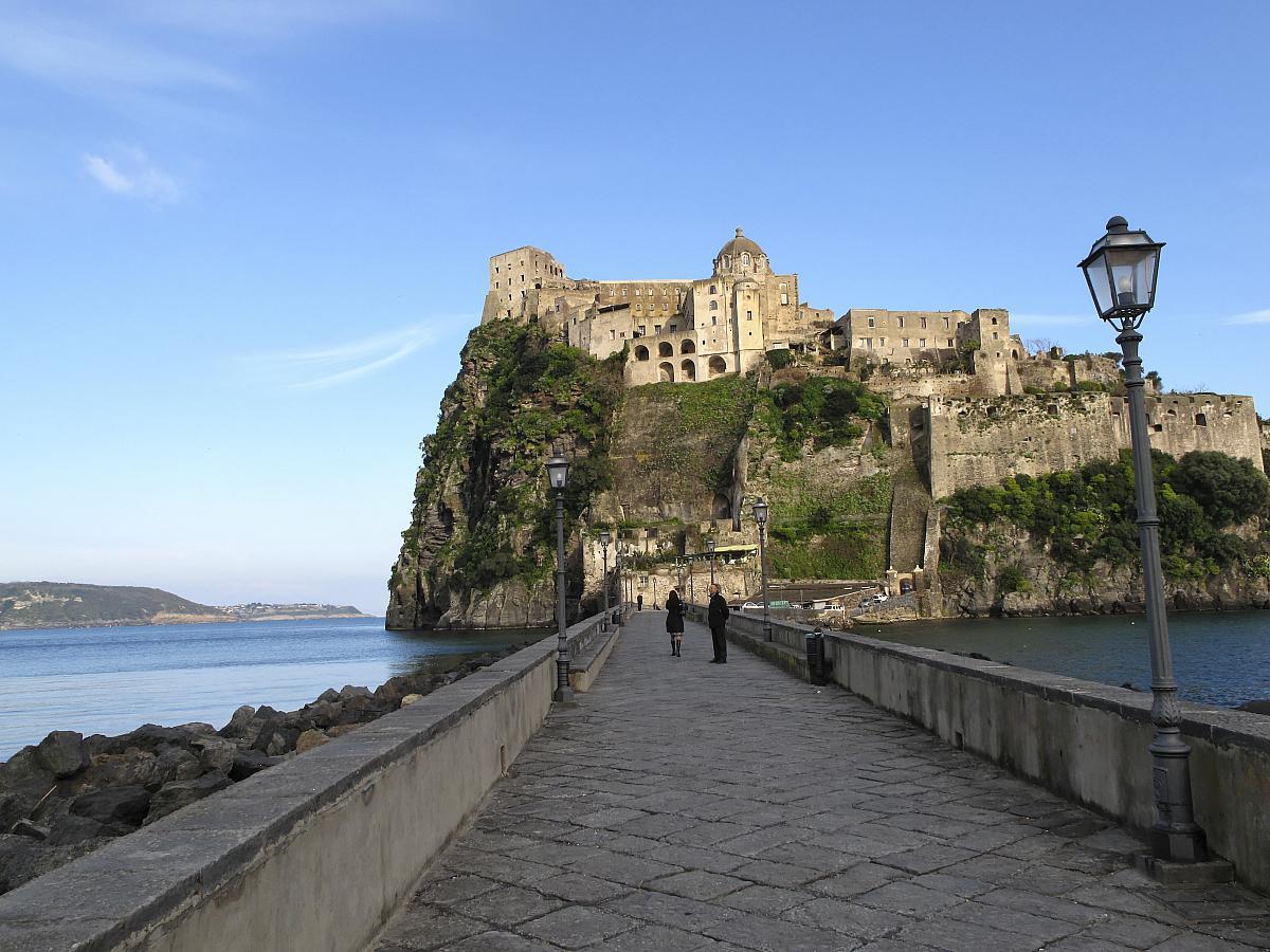 Město Ischia, Aragonský hrad