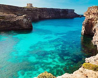 Modrá laguna, celkový pohled